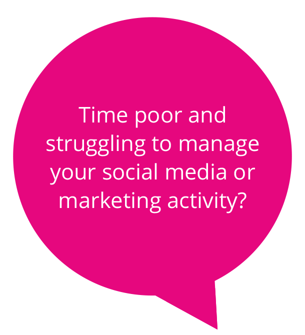 Time poor and struggling to manage your social media?