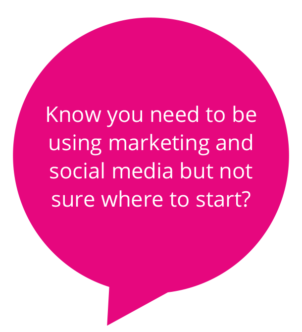 Know you need to be using marketing and social media?