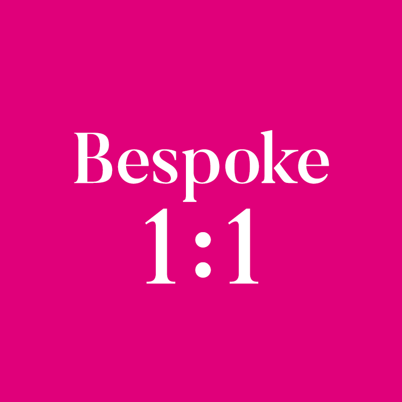 Bespoke 1:1 Training